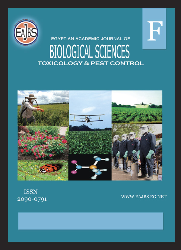 Egyptian Academic Journal of Biological Sciences, F. Toxicology & Pest Control